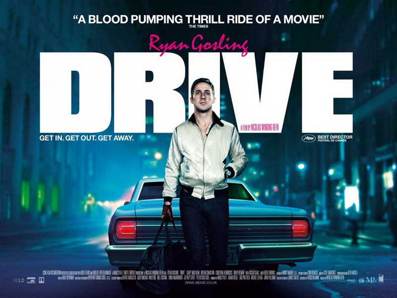 Affiche Drive avec le sexy Ryan Gosling