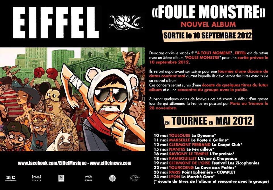 Eiffel : Foule Monstre