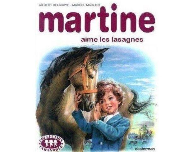 Martine les lasagnes
