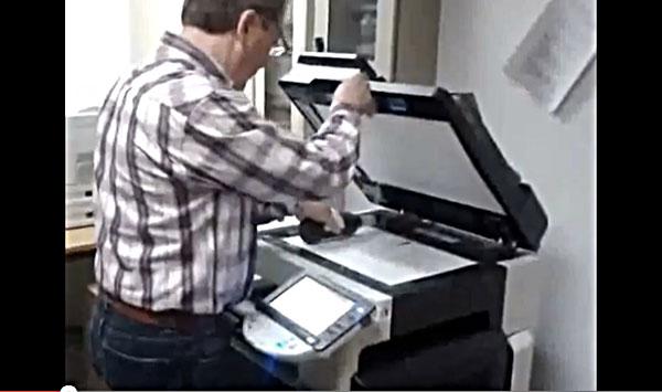 Photocopieuse à bière