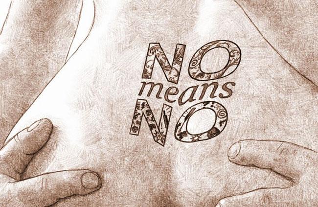 No means no for sex par Audren