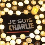 Je Suis Charlie - bougies