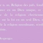 Je suis Charlie - Définition definition religion Desproges
