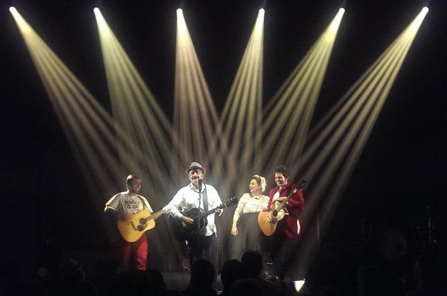 Famille Chedid à L'Olympia Paris 2015