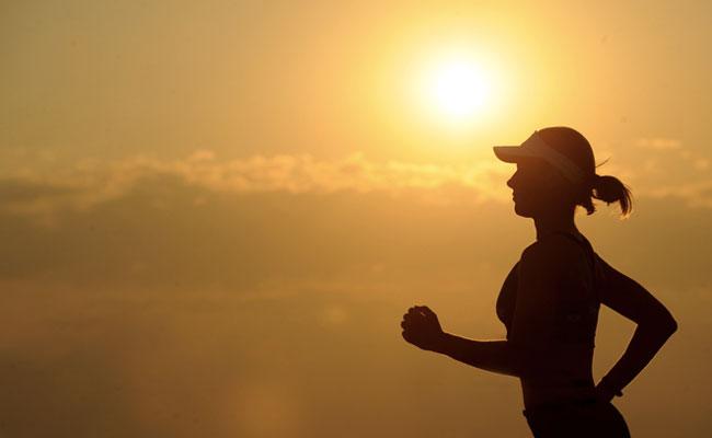 running à jeun femme