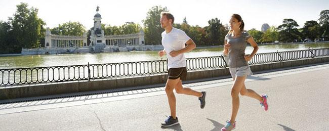 running à jeun