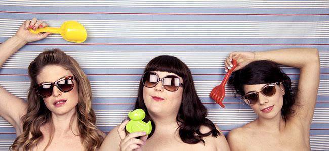 les coquettes, 3 filles sexy