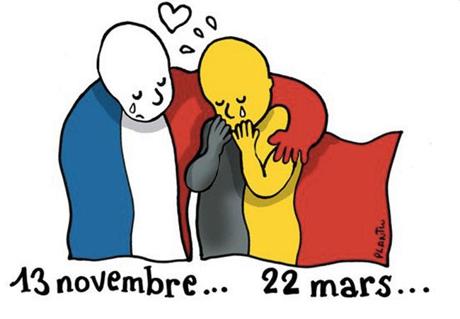 22 mars 2016 Attentats en Belgique