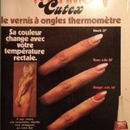 Le nail art ultime, des ongles thermomètre…?